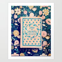 Sense and Sensibility Book Photo Art Print