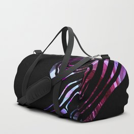 black purple marble inks Duffle Bag