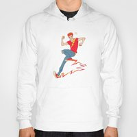 sneakers Hoodies featuring Electric sneakers by Earl Grey Warden