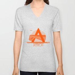 Detroit Joe Louis Shirt Unisex V-Neck