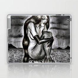 Black Mermaid Laptop & iPad Skin