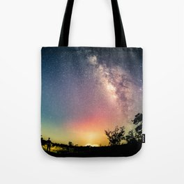 Gazing into the Unknown Tote Bag
