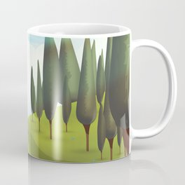 Alpine Meadow landscape Coffee Mug