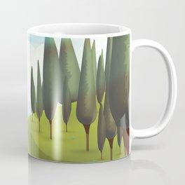 Alpine Meadow landscape Coffee Mug
