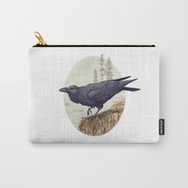 Raven of the North Atlantic Carry-All Pouch