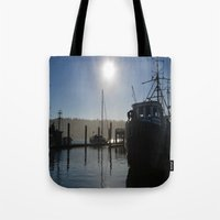 florence Tote Bags featuring Florence by Ellen