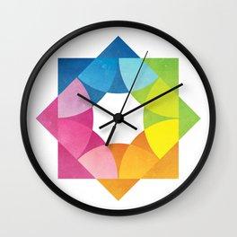 Blending Logo Wall Clock