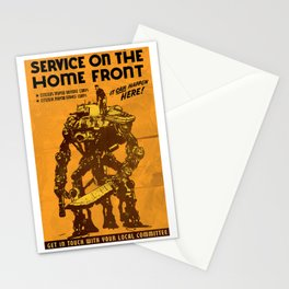SERVICE ON THE HOMEFRONT - GMB CHOMICHUK Stationery Cards