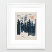 Framed Art Prints featuring A Fox in the Wild... by NDTank