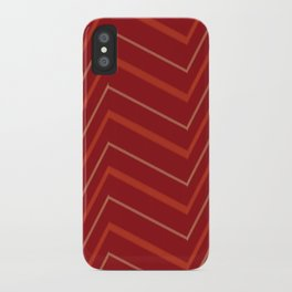 Energy in Red iPhone Case