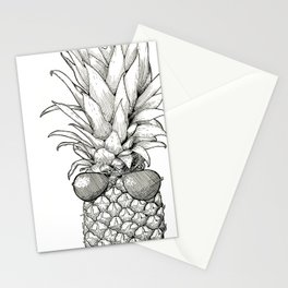 Sunny Days Pineapple Stationery Cards