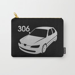Peugeot 306 - silver - Carry-All Pouch