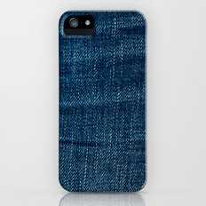 denim*Trompe l'oeil iPhone (5, 5s) Slim Case