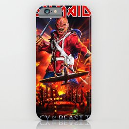 iron legacy maiden tour 2020 iPhone Case