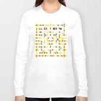pac man Long Sleeve T-shirts featuring Pac-Man Boogie Woogie by Jake Friedman