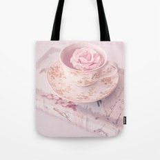 Floating rose Tote Bag