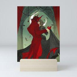 Dance with the Devil Mini Art Print