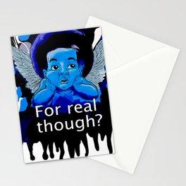 Cherubic Lament Stationery Cards