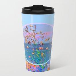 Sea Flowers Metal Travel Mug