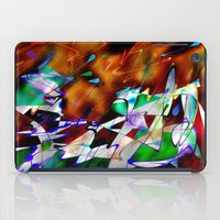 monster inc iPad Cases featuring Abstract Inc. by Lollis Werks