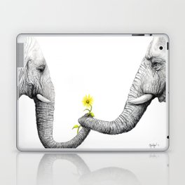 """Up Close You Are More Wrinkly Than I Remembered"" Laptop & iPad Skin"