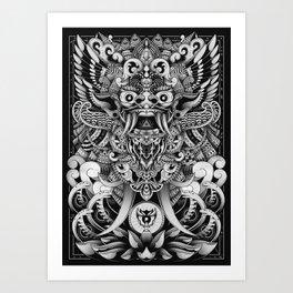 Barong Bali Art Print
