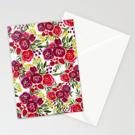 Cherry Blooms Stationery Cards