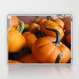 Vector Style Harvest Of Pumpkins Laptop & iPad Skin