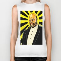 "fresh prince Biker Tanks featuring Fresh Prince - ""The Ascension of James/Phil"" by hawkeyesour"