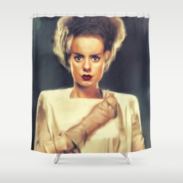 Elsa Lanchester, Actress Shower Curtain