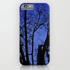 Cemetery trees iPhone 6s Slim Case