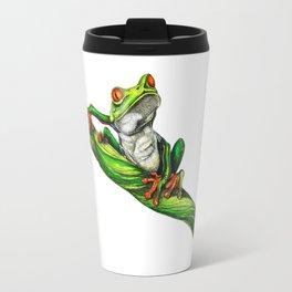 Red eyed tree frog (Agalychnis callidryas) Travel Mug
