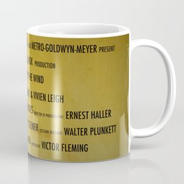 Gone with the... cast & crew Coffee Mug