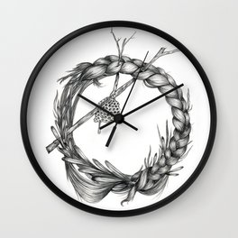 What's Left Wall Clock