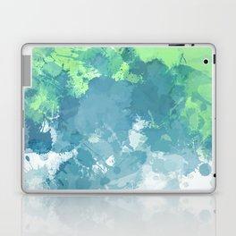 Watercolor Splash Abstract Laptop & iPad Skin