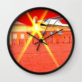 Squared: We could be heroes just for one day Wall Clock