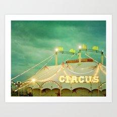 Circus II Art Print