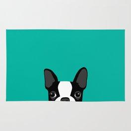 Boston Terrier Rug