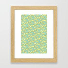 Ginkgo Leaves Framed Art Print