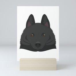 Schipperke dog Mini Art Print