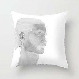 Michelangelo's David 2015 Throw Pillow
