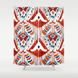 Balinese Pattern 01 Shower Curtain