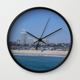 Santa Monica I Wall Clock