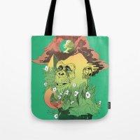 wonder Tote Bags featuring Wonder by jared stumpenhorst