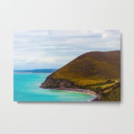 Hidden Cove House Metal Print