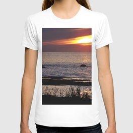 Surreal Seaside Sunset T-shirt