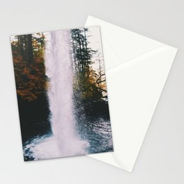 Behind The Falls Stationery Cards