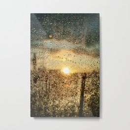 Sunset Dews Metal Print