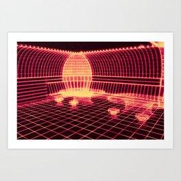 DESERT BUNKER - D2B Art Print