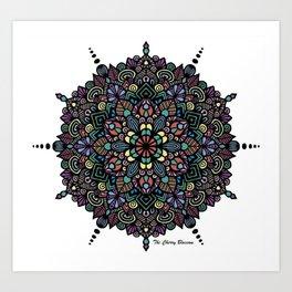 Mandala 43 Art Print